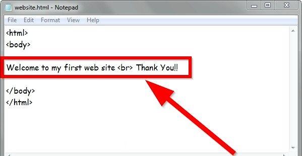 Prent getiteld Gebruik eenvoudige HTML-formaat Stap 12