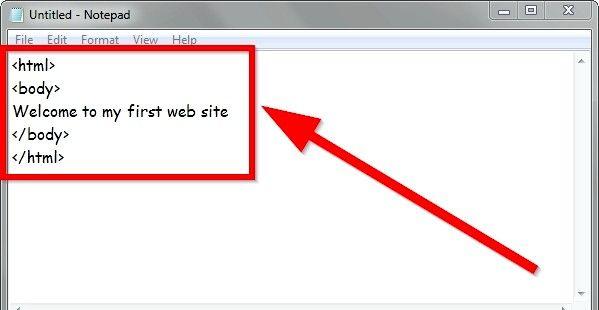 Prent getiteld Gebruik eenvoudige HTML-formaat Stap 3