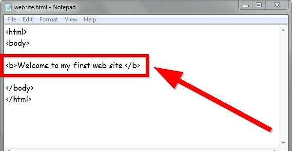 Prent getiteld Gebruik eenvoudige HTML-formaat Stap 8