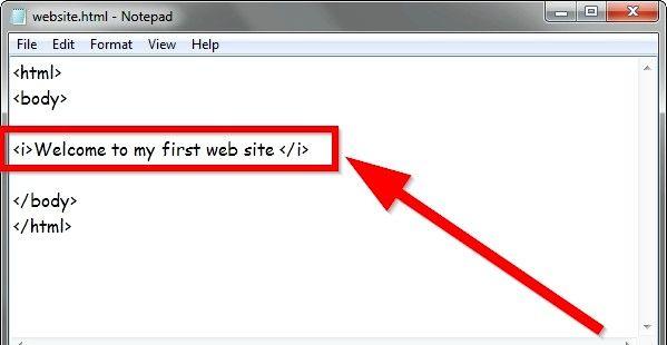 Prent getiteld Gebruik eenvoudige HTML-formaat Stap 9