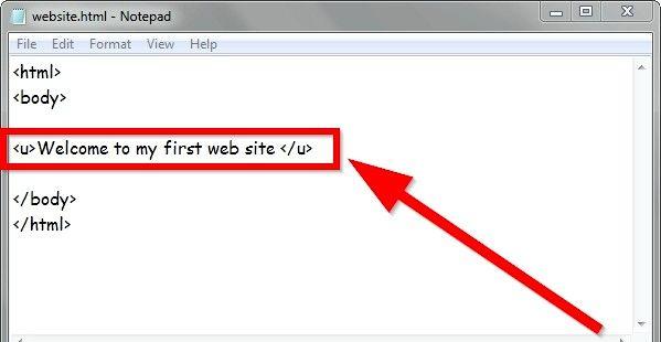 Prent getiteld Gebruik eenvoudige HTML-formaat Stap 10