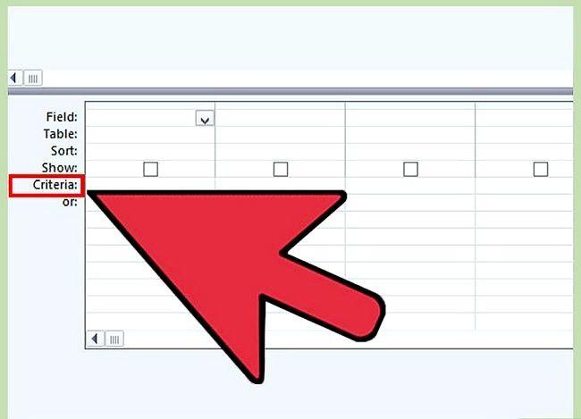 Prent getiteld Gebruik Microsoft Access Stap 15