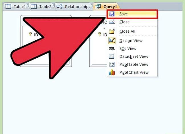 Prent getiteld Gebruik Microsoft Access Step 26