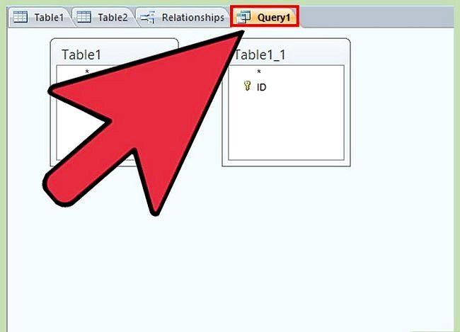 Prent getiteld Gebruik Microsoft Access Step 29