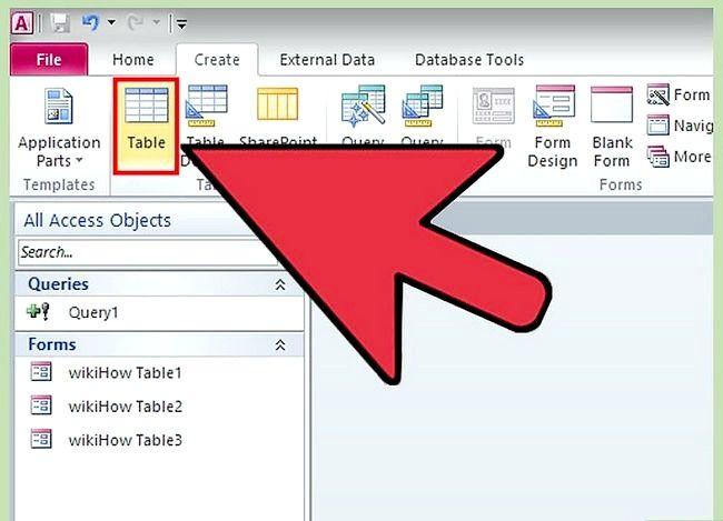 Prent getiteld Gebruik Microsoft Access Step 40