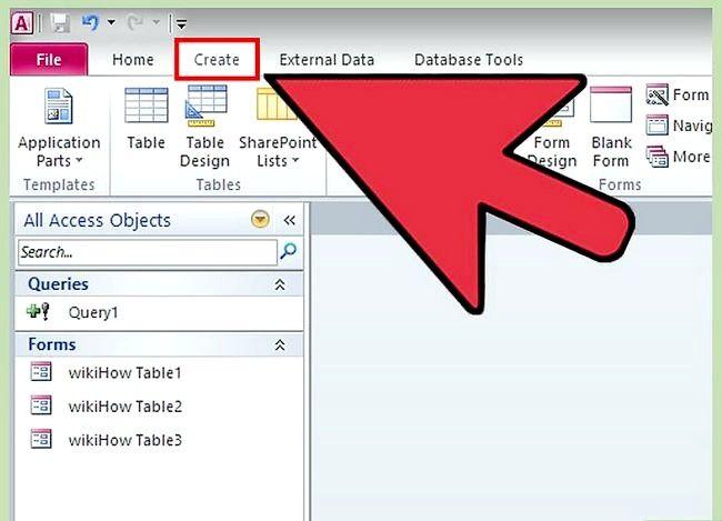 Prent getiteld Gebruik Microsoft Access Step 41