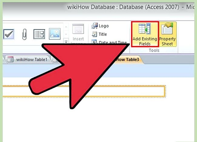 Prent getiteld Gebruik Microsoft Access Step 43
