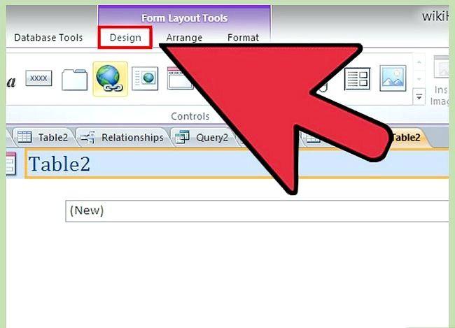 Prent getiteld Gebruik Microsoft Access Step 44