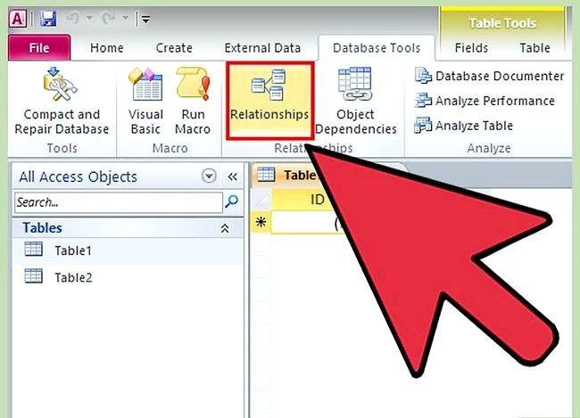 Prent getiteld Gebruik Microsoft Access Step 8