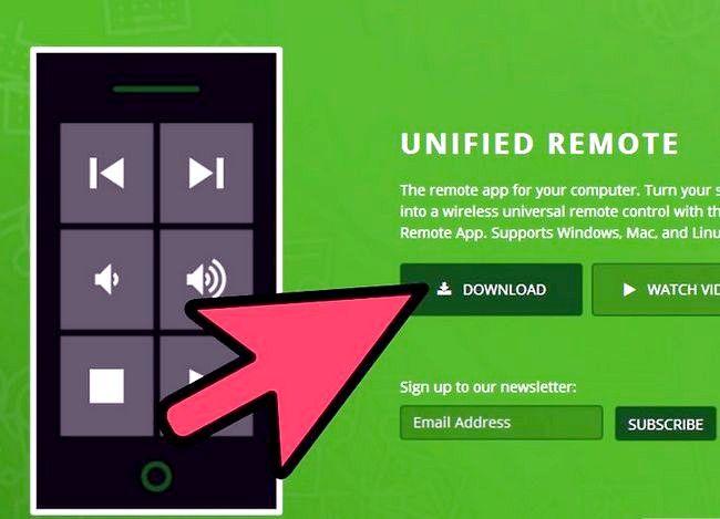 Hoe om Unified Remote op Android te gebruik