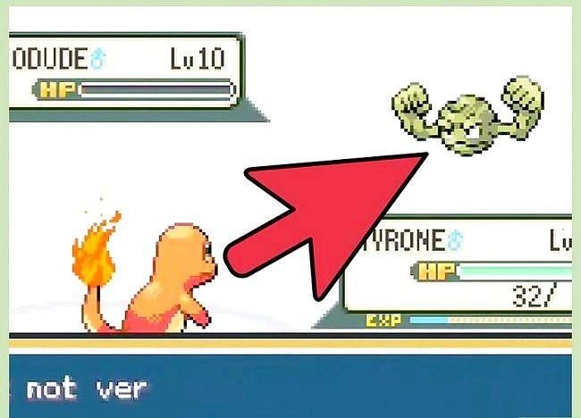 Prent getiteld Klop die eerste gimnasiumleier in Pokémon FireRed en LeafGreen Stap 11