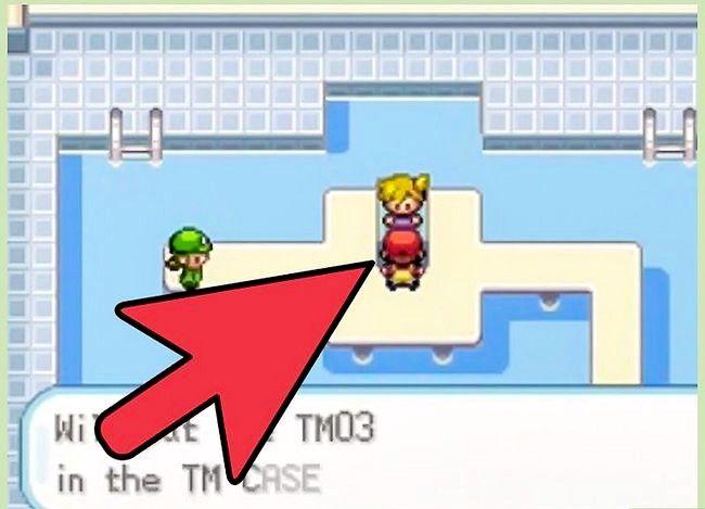 Prent getiteld Klop die eerste gimnasiumleier in Pokémon FireRed en LeafGreen Stap 5