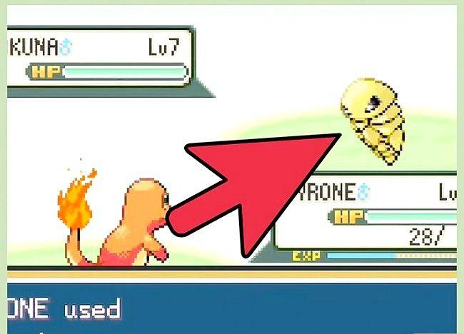 Prent getiteld Klop die eerste gimnasiumleier in Pokémon FireRed en LeafGreen Stap 9