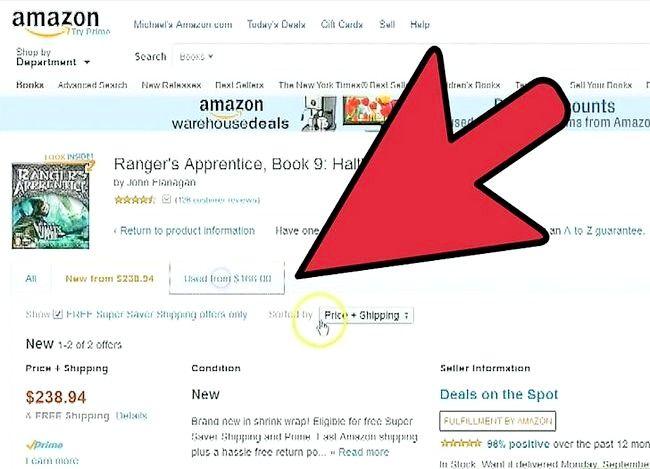 Prent titel Verkoop boeke op Amazon Stap 12