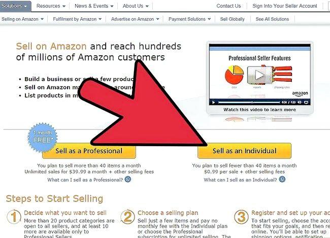 Prent titel Verkoop boeke op Amazon Stap 2