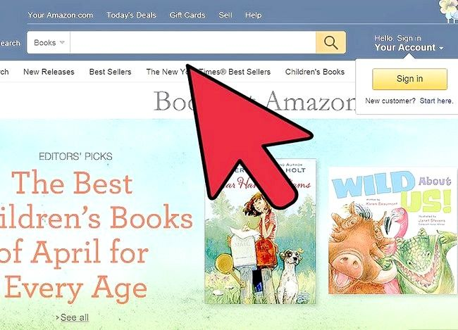Prent getiteld Verkoop boeke op Amazon Stap 3