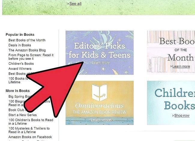 Prent titel Verkoop boeke op Amazon Stap 4