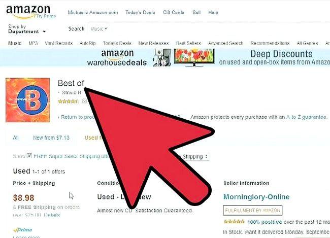 Prent titel Verkoop boeke op Amazon Stap 6