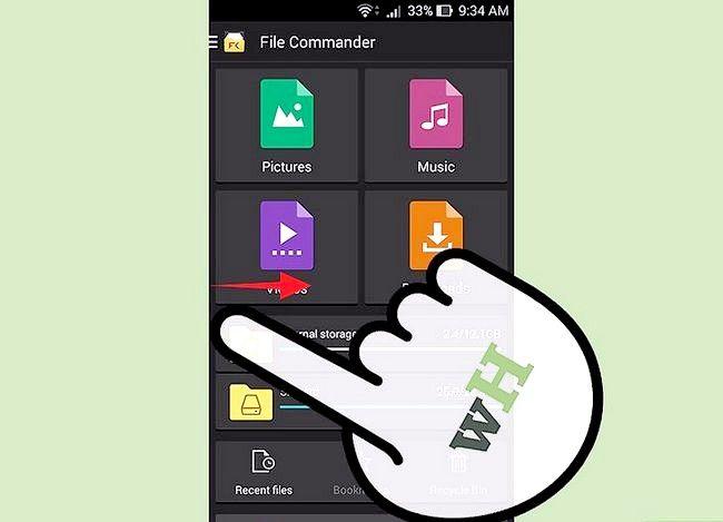 Prent getiteld View afgeleë lêers met behulp van File Commander vir Android Stap 5