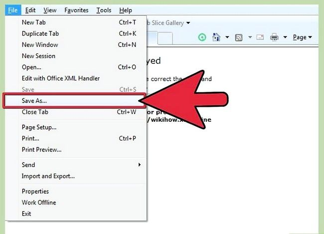 Prent getiteld Sien XML-lêers Stap 4