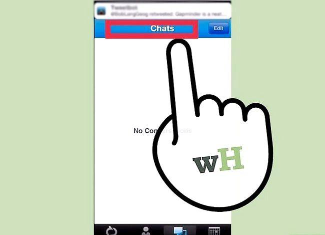 Prent getiteld Sien gespreksgeskiedenis op Lync op iOS Stap 3