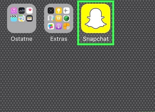 Prent getiteld Sien jou beste vriende op Snapchat Stap 1