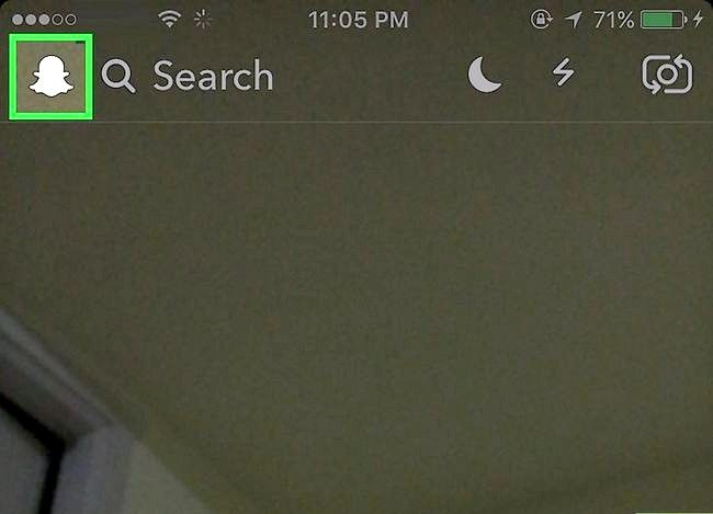 Prent getiteld Bekyk Snapchat Profiel Stap 2
