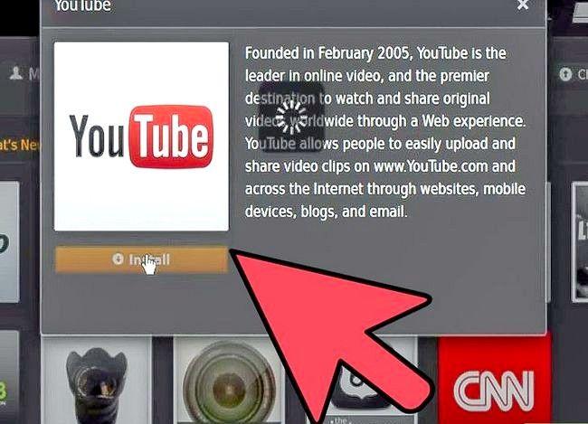 Prent getiteld Watch YouTube op Roku Stap 9