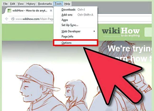 Prent getiteld Check vir opdaterings in Mozilla Firefox Stap 5