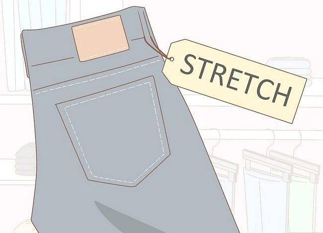 Prent getiteld Kyk goed in Skinny Jeans Stap 16