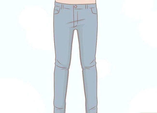 Prent getiteld Look Great in Skinny Jeans Stap 5