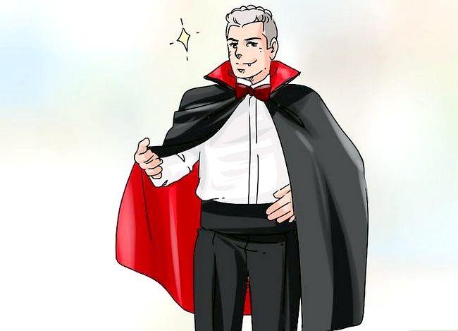 Prent getiteld Kyk soos `n vampier Stap 12