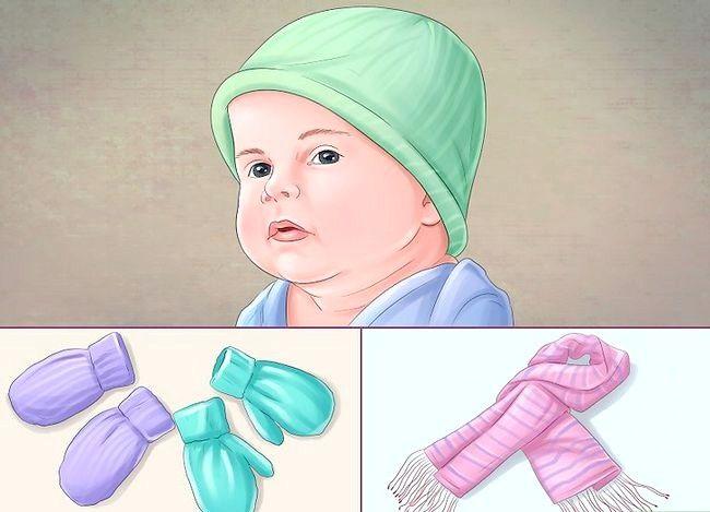 Prent getiteld Dress a Baby Stap 17