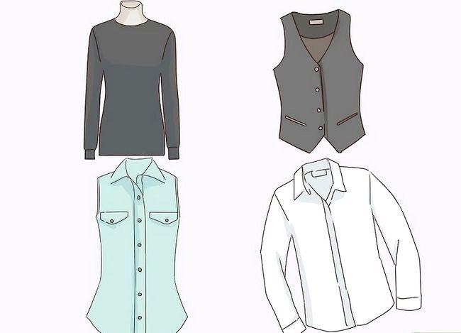Prent getitel Dress Business Casual Stap 6