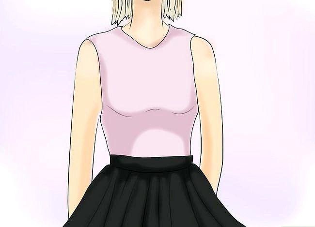 Prent getiteld Dra `n Velvet Skirt Stap 11