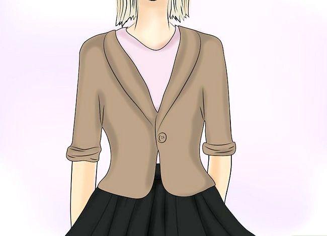 Prent getiteld Dra `n Velvet Skirt Stap 15