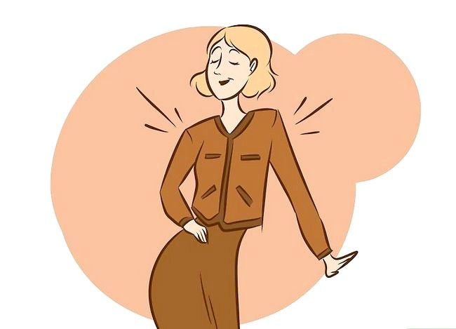 Prent getiteld Dress Like Coco Chanel Stap 12