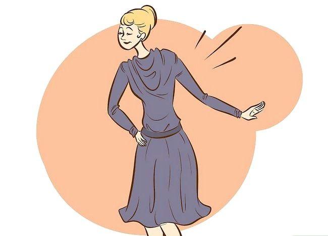 Prent getiteld Dress Like Coco Chanel Stap 4