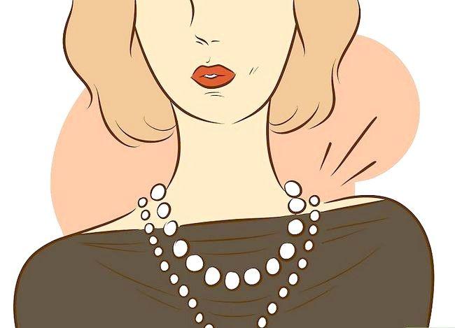 Prent getiteld Dress Like Coco Chanel Stap 5