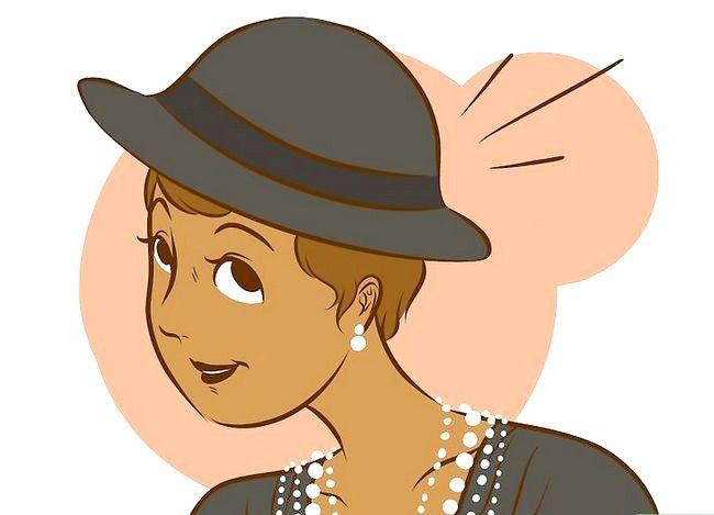 Prent getiteld Dress Like Coco Chanel Stap 6