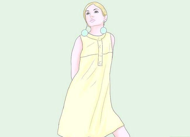 Prent getiteld Dress Like a Mod Stap 4