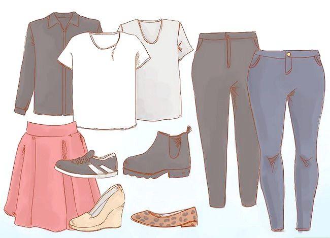 Prent getitel Dress Nice Everyday (vir Girls) Stap 1