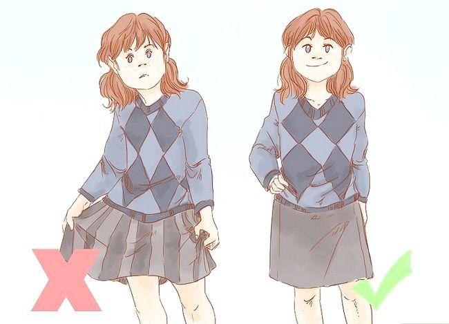 Prent getiteld Dress Nice Everyday (vir Girls) Stap 11