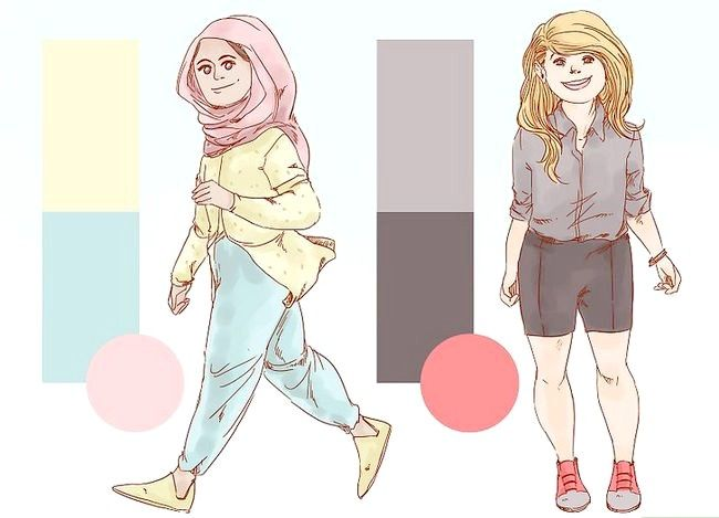 Prent getiteld Dress Nice Everyday (vir Girls) Stap 12