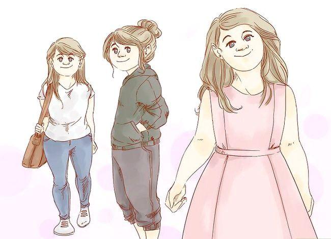 Prent getitel Dress Nice Everyday (vir Girls) Stap 13