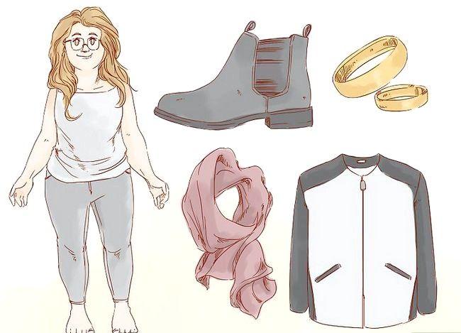Prent getiteld Dress Nice Everyday (vir Girls) Stap 15