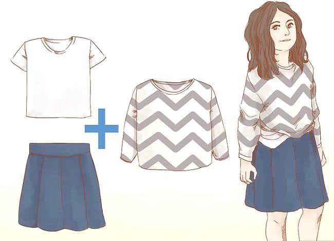 Prent getitel Dress Nice Everyday (vir Girls) Stap 2