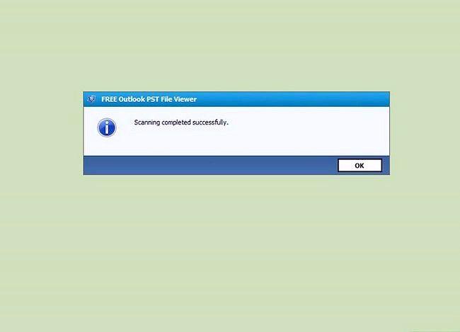 Beeld getiteld Bekyk `n PST-lêer sonder Outlook geïnstalleer Gebruik met PST File Viewer Stap 4