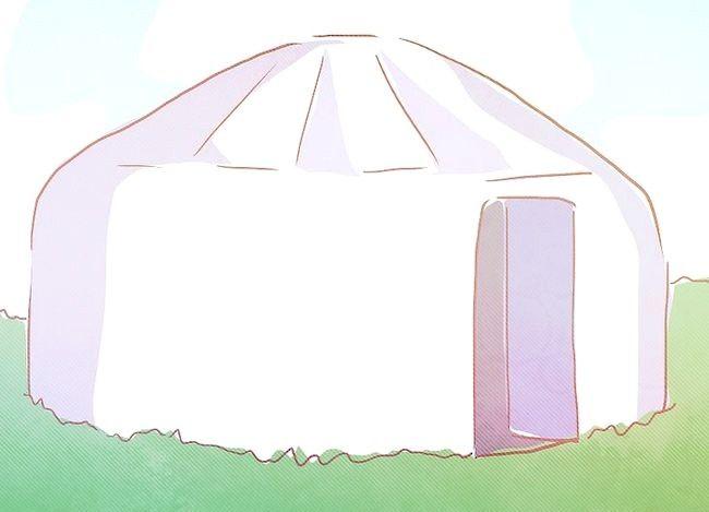 Hoe om in `n yurt te leef