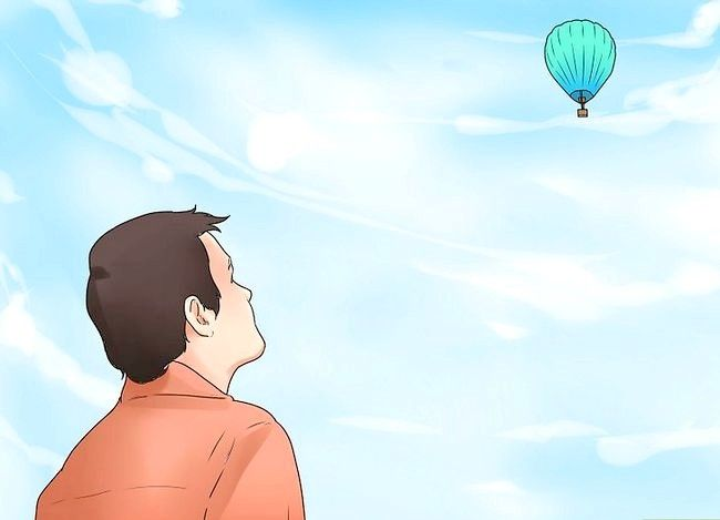 Hoe om `n warmlugballon te vlieg